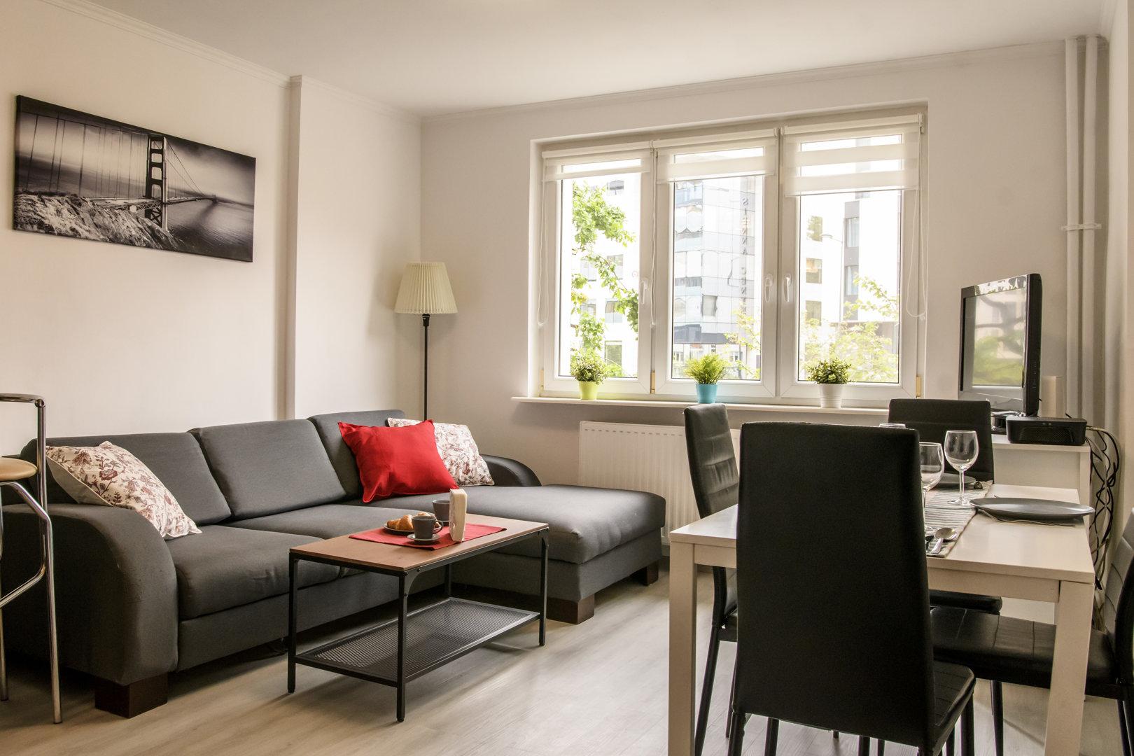 Apartamenty w Sercu Warszawy